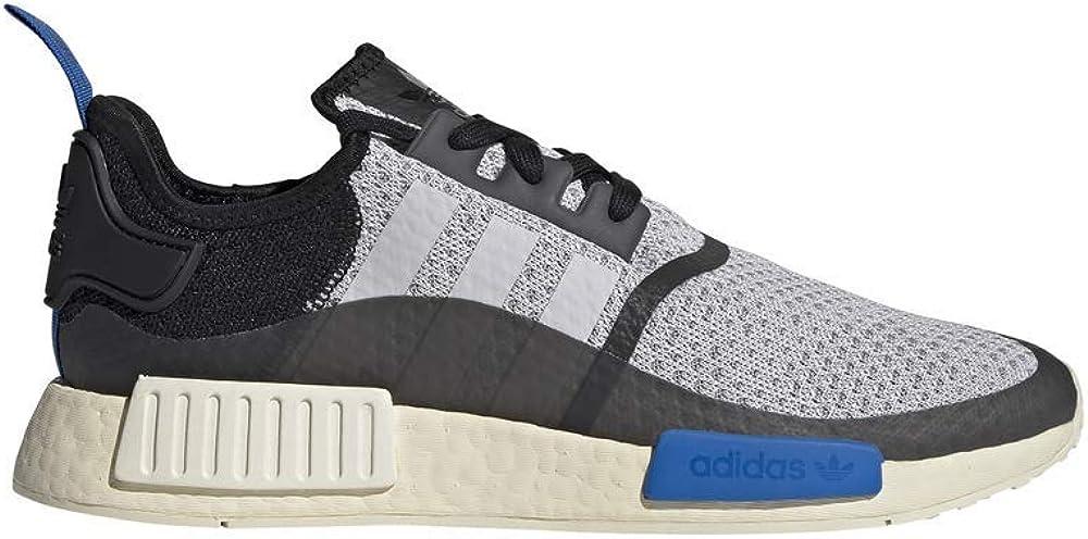 Zapatilla Hombre Adidas NMD R1 Color Dash Grey/Core Black/Glow Blue Talla