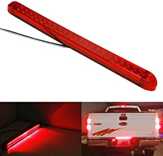 iJDMTOY 17-Inch Trunk Tailgate Red LED Tail/Brake Light Bar For Ford GMC Chevy Dodge Toyota Nissan Honda Truck