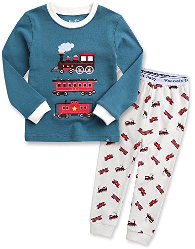Vaenait - Pijama de manga larga para beb con diseo de astronauta Eco Train 12-18 Meses