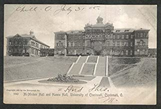 McMicken Hall Hanna Hall University Cincinnati OH undivided back postcard 1905
