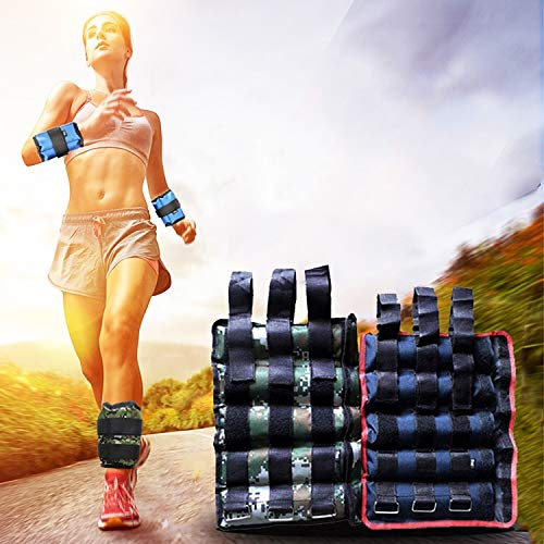Best Buy! BAIDONGWtoy A Pair of Selling Fitness Loading Equipment Ankle Weights Gaiter Sandbags, Adj...