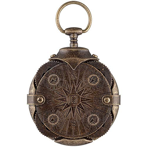Cryptex Round Lock Compass, USB Flash Drive 32 GB, USB 3.0