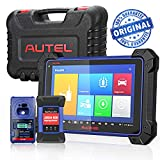 Autel IM608 Automotive Diagnostic Scanner OE-Level All System Scan Tools with IMMO Key Programmer and ECU Reprogrammer Android Based Tablet for Oil Reset, EPB, SAS, TPMS, BMS, DPF Services