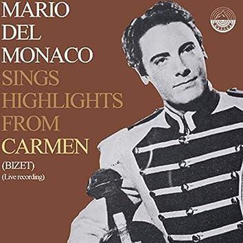 Sings Highlights From Carmen