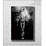YANGDINGYAO Posters and Prints Big Sean Dark Sky Paradise Canvas Art Poster Canvas Painting Home Decor-24x36inch No Frame