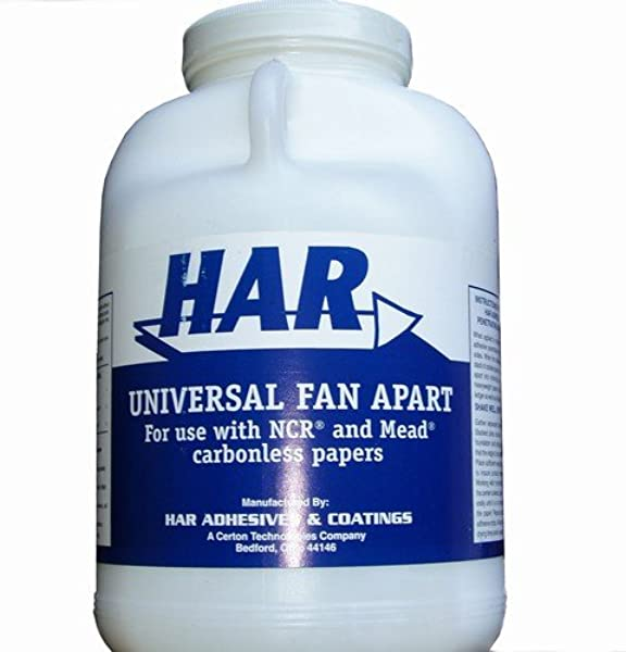 HAR Universal Fan Apart For NCR And Mead Carbonless Paper 1 Gallon