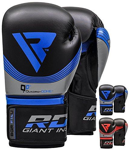 RDX Boxing Gloves Nemesis Muay Thai Training Maya Hide Leather Sparring Punching Bag Mitts kickboxing Fighting