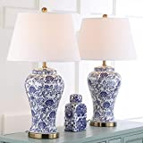 Safavieh Lighting Collection Spring Blossom Multi Floral 29-inch Table Lamp (Set of 2)