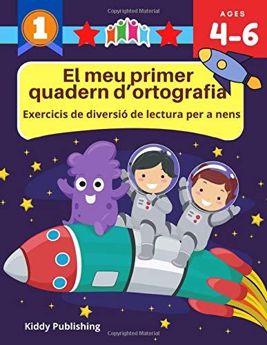El meu primer quadern d'ortografia: Exercicis de diversió de lectura per a nens: Practicar traçar, pintar i escriure llibres de vocabulari en anglès. ... Learn to spelling, tracing, coloring books