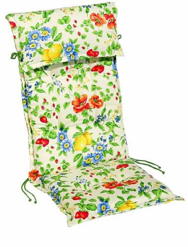 Best 01200612 Sesselauflage hoch STS 120 x 50 x 8 cm, Dessin 0612