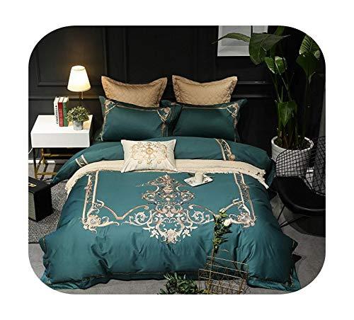Juego de sábanas de algodón N/A Europe King Size Queen Size, algodón, Juego de cama., Queen size 7pcs