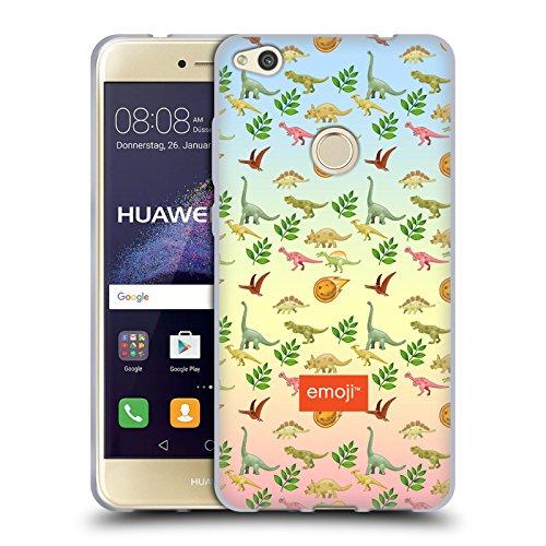 Head Case Designs Oficial Emoji Meteoro Dinosaurios Carcasa de Gel de Silicona Compatible con Huawei P8 Lite (2017)