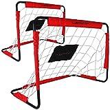 Torwand - Tor - Fussballtor 2er Set - Dunlop