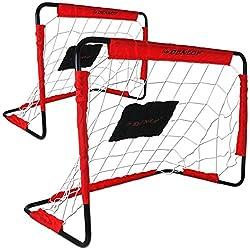 Dunlop Goal Wall - Goal - Soccer Goal Set of 2