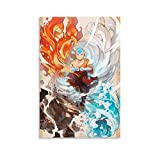 Avatar The Last Airbender Aang Anime-Poster 10,
