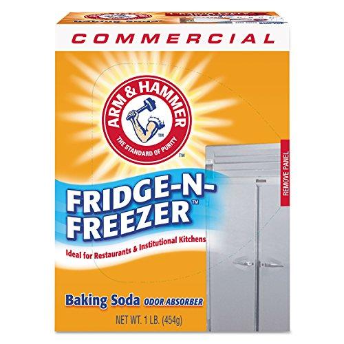 Fridge-n-Freezer Pack Baking Soda, Unscented, Powder, Sold as 1 Each