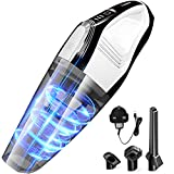 DN DENNOV Handheld Vacuums Cordless, 8500Pa 14.8V Lithium Powered Effortless Cleaning Hand Vacuum Cleaner, Handheld Vac Wet Dry Car Vacuum Cleaner, Lightweight & Lower Noise
