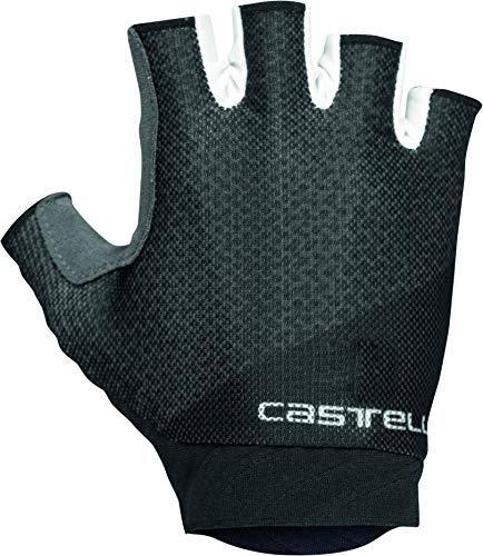 castelli Roubaix Gel 2 - Guantes de Ciclismo para Mujer, Mujer, 4520081, Light Black, X-Large