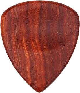 Perfk Acoustic Guitar Electric Guitar Picks Red Sandal Wood