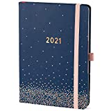 Boxclever Press Perfect Year 2021 Planner. Stunning 2021 Planner Weekly and Monthly for Perfect Organization. Planner 2021 with Note Pages, Shopping Lists & Planner Stickers. 8.5 x 5.5 (Confetti)