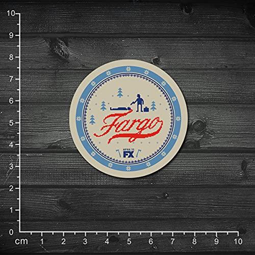 YOUKU Película única Serie de televisión Americana Hielo y tormenta de Sangre Fargo Pegatina para portátil Pegatina Retro Pegatina para Maleta