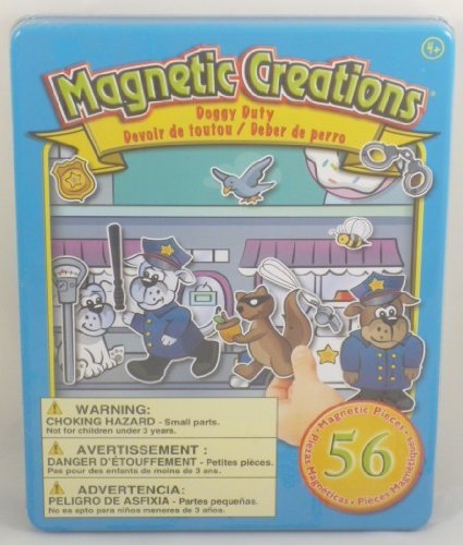 Magnetic Creations Doggy Duty Playset by Magnetic Creations (English Manual)