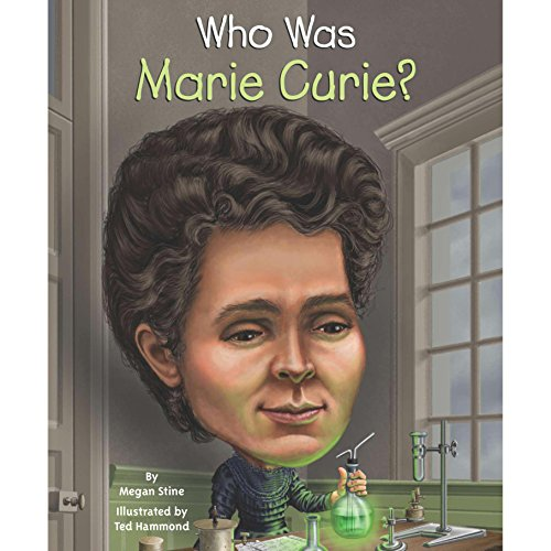Who Was Marie Curie? audiobook cover art