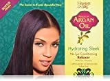 Hawaiian Silky Hydrating Sleek No Lye Relaxer Argan Oil, Super