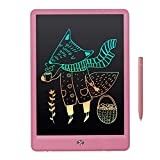 10' Drawing LCD Writing Tablet Small Dry Erase White Board for Kid Brithday Toy for Children Adult Age 2+, Weekly Daily to Do List Notepad for Home Office & Car LWT28 - Rainbow Pink