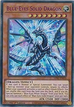 Blue-Eyes Solid Dragon  Purple  - LDS2-EN014 - Ultra Rare - 1st Edition