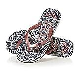 Roxy Tahiti Vi J SNDL, Zapatos de Playa y Piscina Mujer, Multicolor (Multicolor/(Rsg Rose Gold) Rsg), 41 EU
