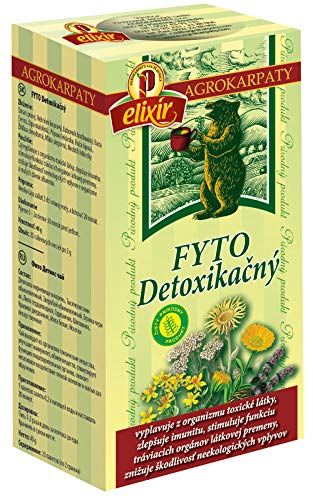 Detox Herbal Tea | Cleansing, Immunity, Intestinal Health, Kidneys, Bladder, Liver | Pure Natural Herbal Tea (20 Tea Bags 40g)