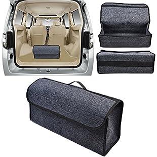 Portable Car Compartment Storage Box Folding Toolkit Trunk Storage Bag Auto Travel Storage Bag for large Outdoor Car Storage organizer