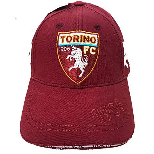 Torino F.C. Cappello Cappellino con Visiera Berretto Toro Prodotto Ufficiale
