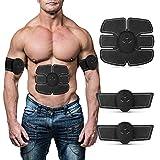 AIKESIWAY Abdominal Toning Belt Stimulator Weight Loss Muscle Massage Slimming Massager Smart Fitness Device