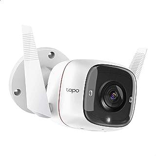 كاميرا مراقبة ذكية خارجية تابو C310 بوضع رؤية ليلية، 3 ميجا بيكسل من تي بي لينك