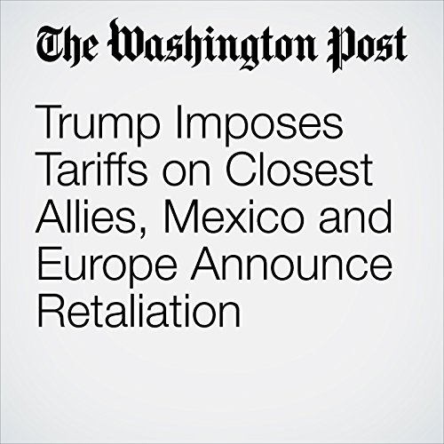 Trump Imposes Tariffs on Closest Allies, Mexico and Europe Announce Retaliation copertina