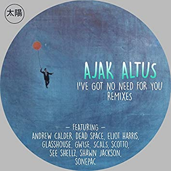 I've Got No Need For You Remixes