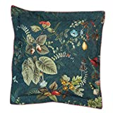 PIP Studio Kissen Fall in Leaf | blau - 45 x 45