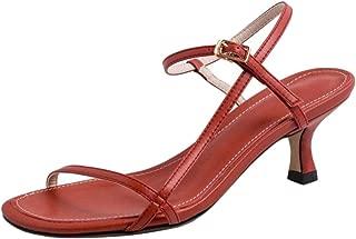 Melady Women Fashion Mid Heels Summer Shoes