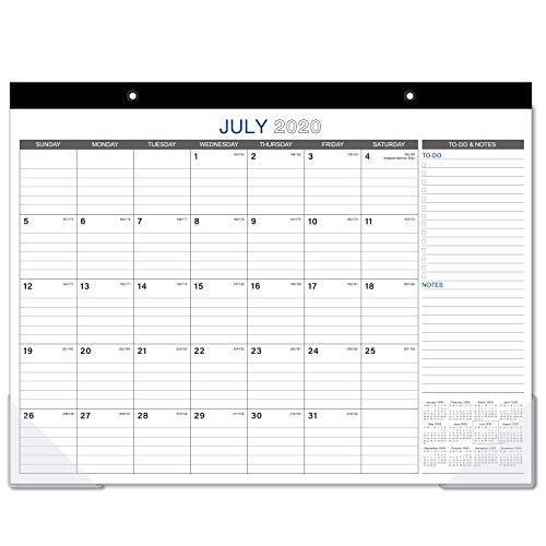 2020-2021 Desk Calendar - 18 Months Large Monthly Desk Calendar, 22' x...