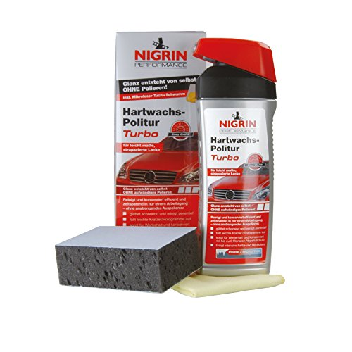 NIGRIN 72961 Performance Hartwachs-Politur TURBO 500 ml