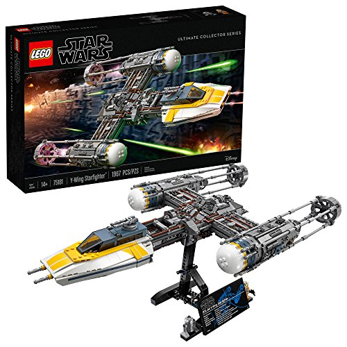 Lego star wars y-wing starfighter 75181 building kit (1967 pieces) (discontinued by manufacturer)