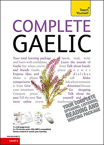 Compare Textbook Prices for Complete Gaelic Beginner to Intermediate Course Teach Yourself 1 Edition ISBN 9781444102369 by Robertson, Boyd,Taylor, Iain