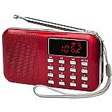iMinker Mini Portatile Digitale Radio FM/AM Speaker MP3 Supporto TF Card/USB