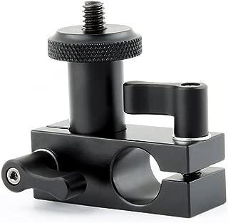 NICEYRIG 15mm Rail Block Rod Clamp Mount 90 Degree Angle for 15mm Rod DSLR Shoulder Rig
