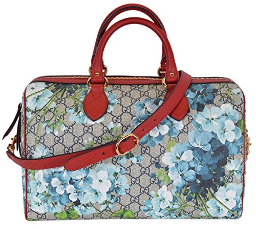 Gucci GG Supreme BLOOMS Convertible Boston Bolso para mujer