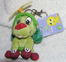 Baby Looney Tunes Plush Mini K-9 Dog Clip On Keychain from Marvin the Martian