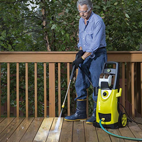 Sun Joe SPX3000 Joe 2030 PSI1.76 GPM 14.5 Amp Electric Pressure Washer, NEW, Green