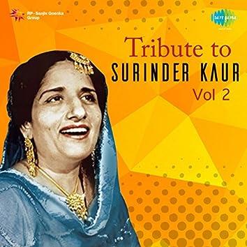 Tribute to Surinder Kaur, Vol. 2